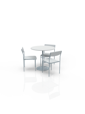 FB-BL-P1 - Furniture Package Low White