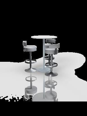FB-BH-P18 - Furniture Package High White