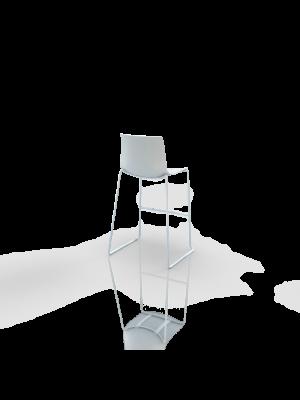 Catifa bar - Barstool white/white