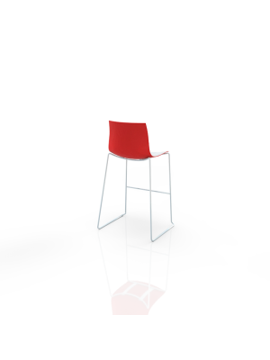 Catifa bar - Barstool white/red