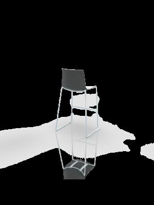 Catifa bar - Barstool white/black